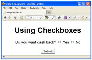 Using CheckBoxes