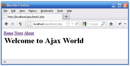 Beginning Ajax With PHP Example 2