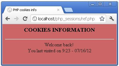 PHP Cookie Testing