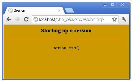 PHP Session Start Syntax