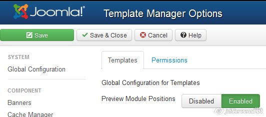 joomla 3 template postion