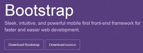 Twitter Bootstrap 3.0 Download