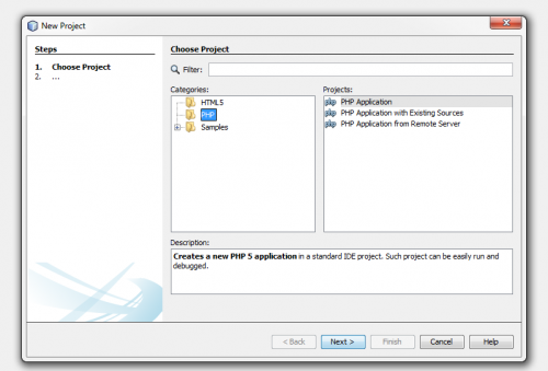 Create Zend Framework 2 Project in Netbeans