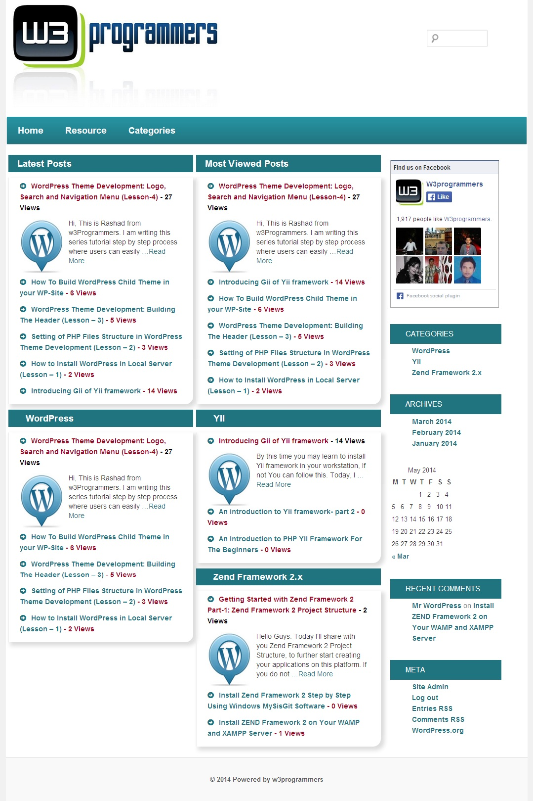 WordPress Theme Development: Recent posts and Most Viewed Posts Loop (Lesson 8)