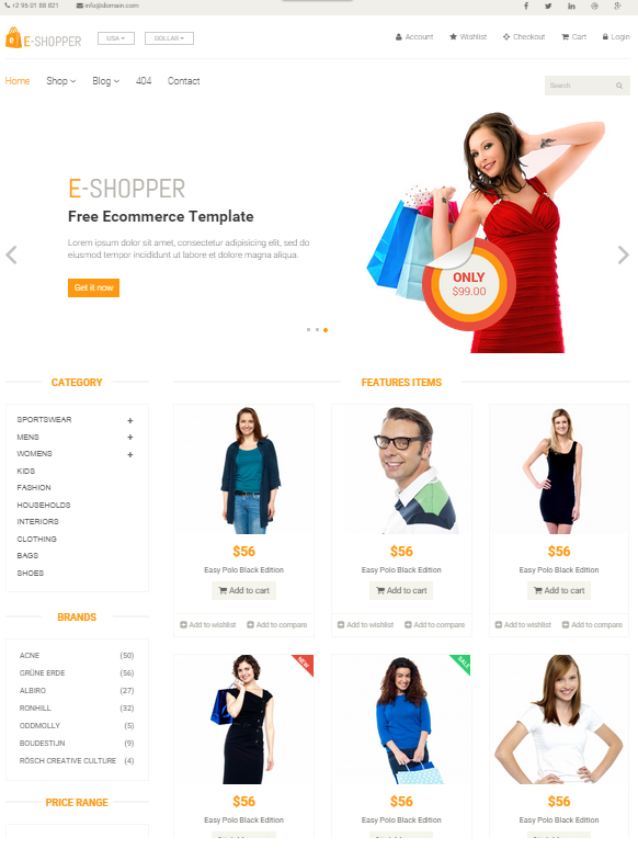 Magento Theme Layout