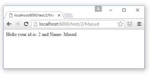 Laravel Routing with Regular Expressions