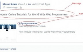 Working with Facebook API Part-2: Posting Messages on Your Facebook Wall and Fan Pages